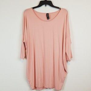 Agnes & Dora pink tunic size XL